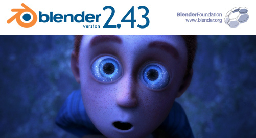 Blender 2.43 Splash